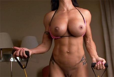 fitness model porn
