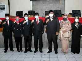 Pelantikan DPRD Subang PAW