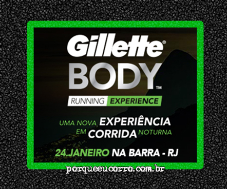 Gillette Body Running