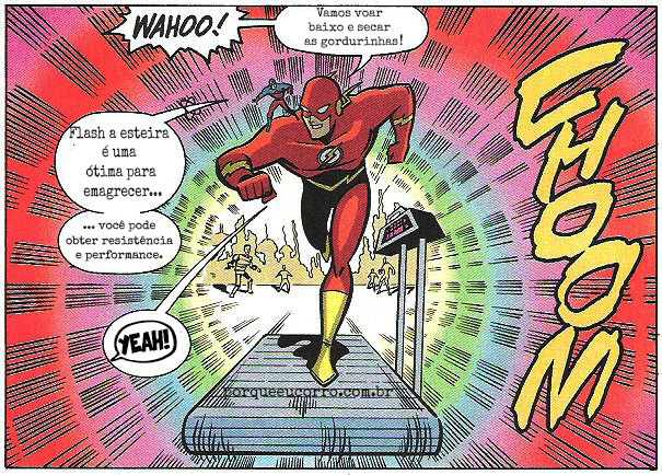 Flash na Esteira SmartFir