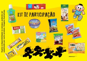 Corrida Divertida Turma da Monica Kit