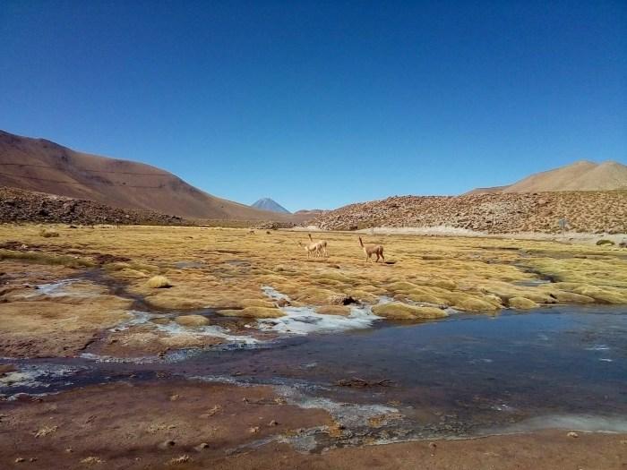 Fotografía del desierto en San Pedro de Atacama.