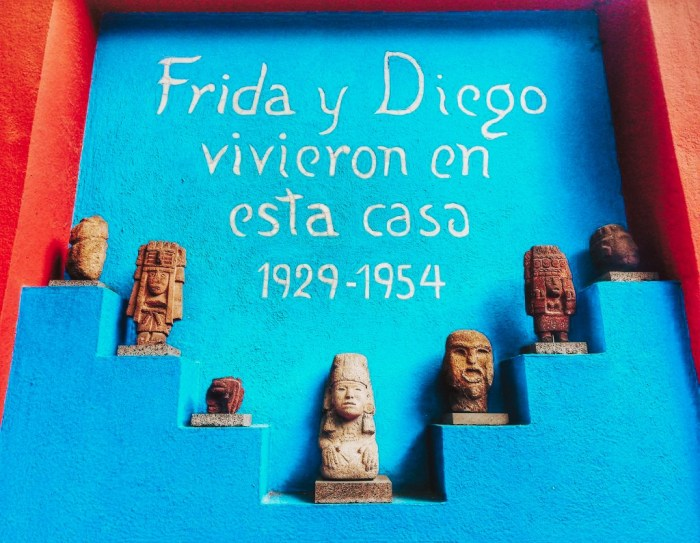 Casa Azul de Frida Kahlo.