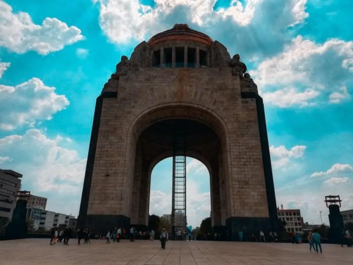 Monumento a la Revolución de Ciudad de México.