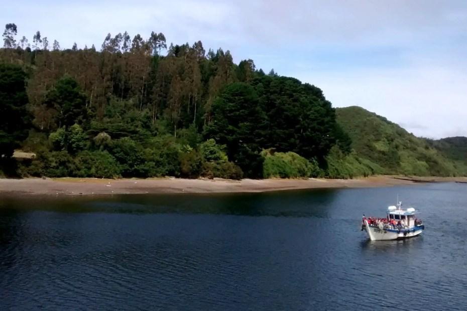 Fotografía de la Isla Tenglo.