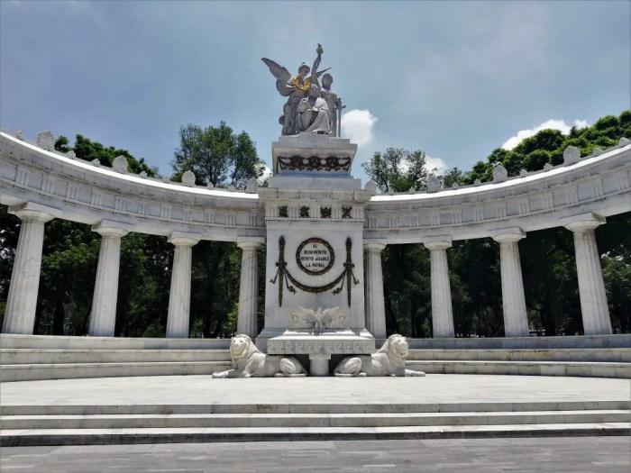 Hemiciclo a Juares en Ciudad de México.