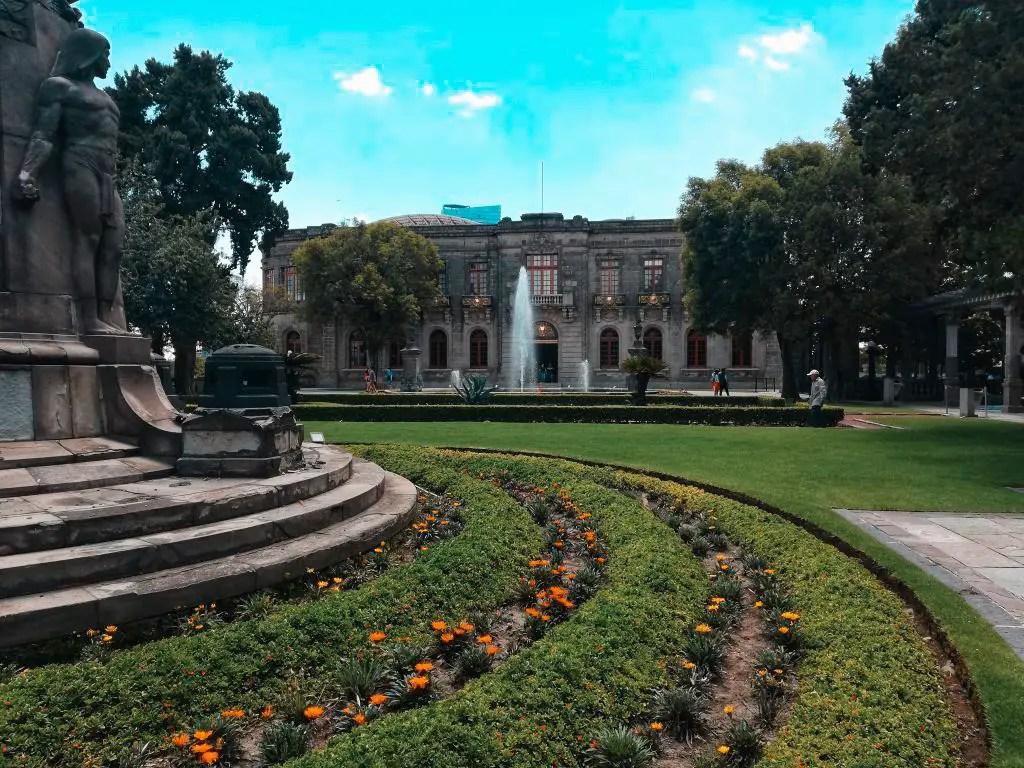 Viajar sola a México: Castillo de Chapultepec.