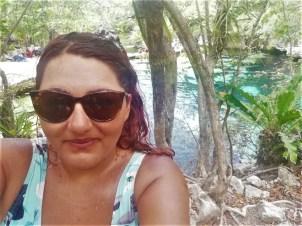 Foto en un cenote barato cerca de Playa del Carmen