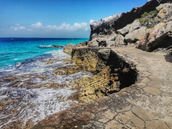 Acantilados de la Punta Sur de Isla Mujeres