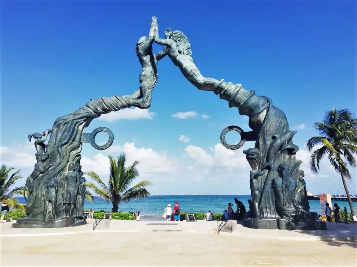 Arco de Playa del Carmen
