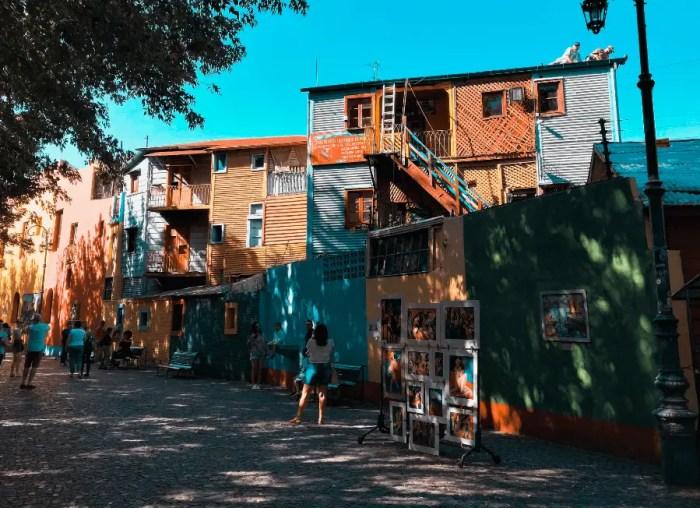 Paseo por Caminito, Buenos Aires.