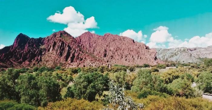 Paisajes del camino de Uyuni a Villazón.