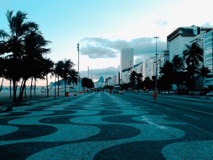 Copacabana, Brasil.