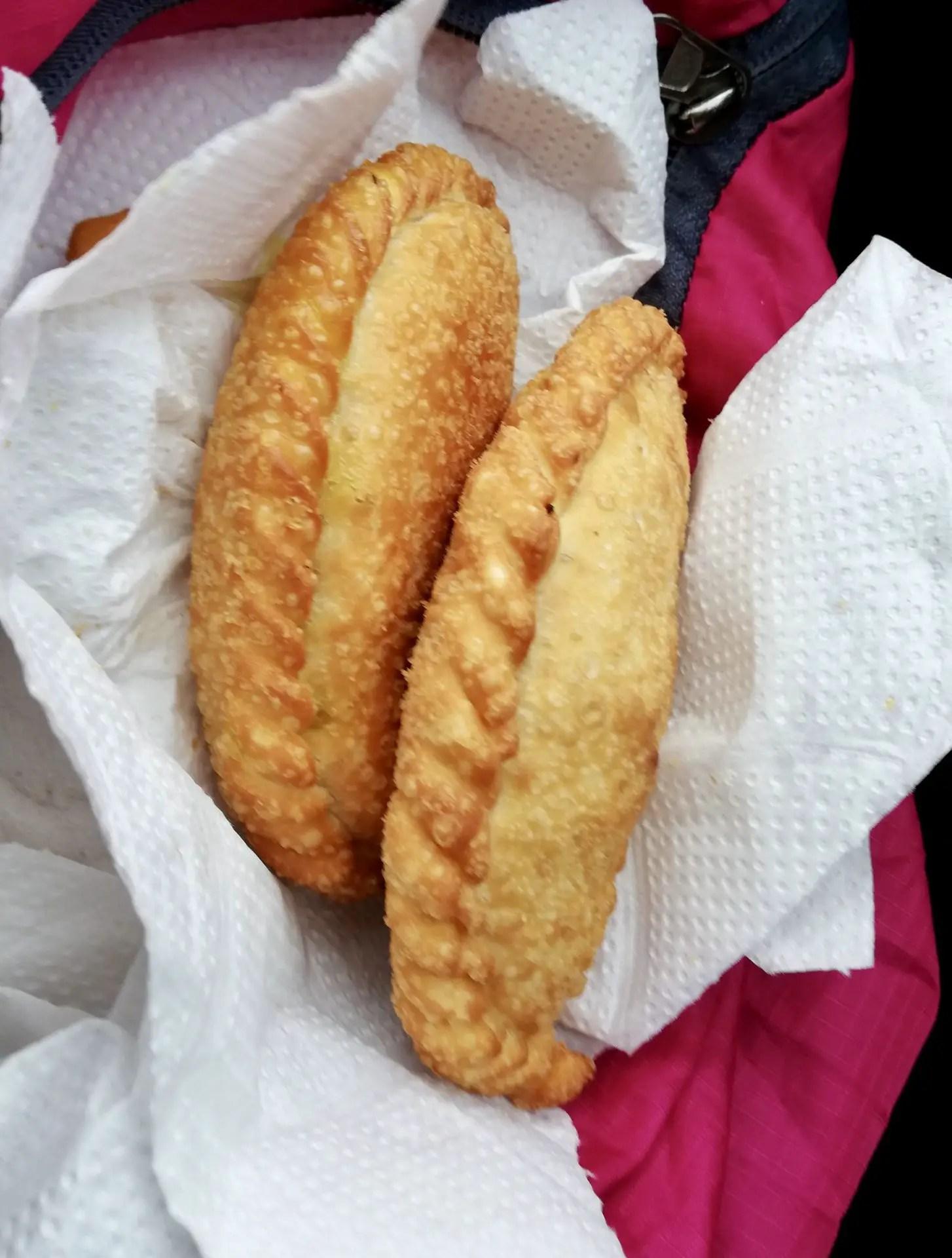 Empanadas tipicas del norte de Argentina.