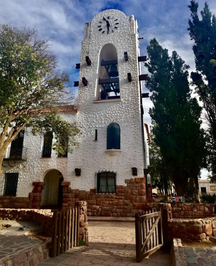 Iglesia de Humahuaca.