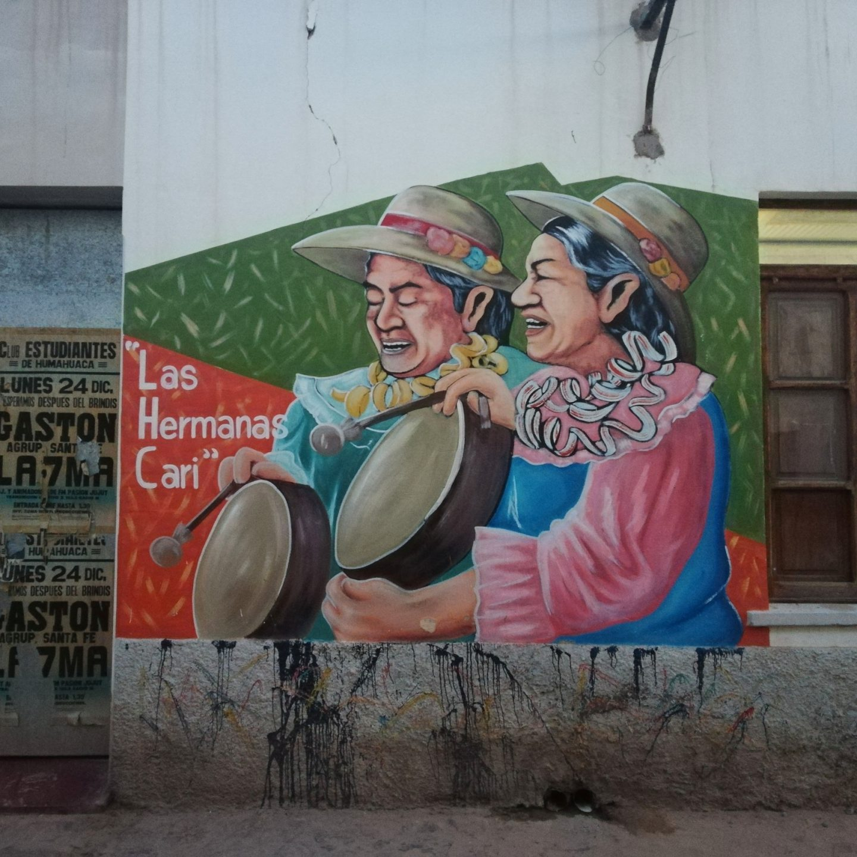 Arte callejero Humahuaca.
