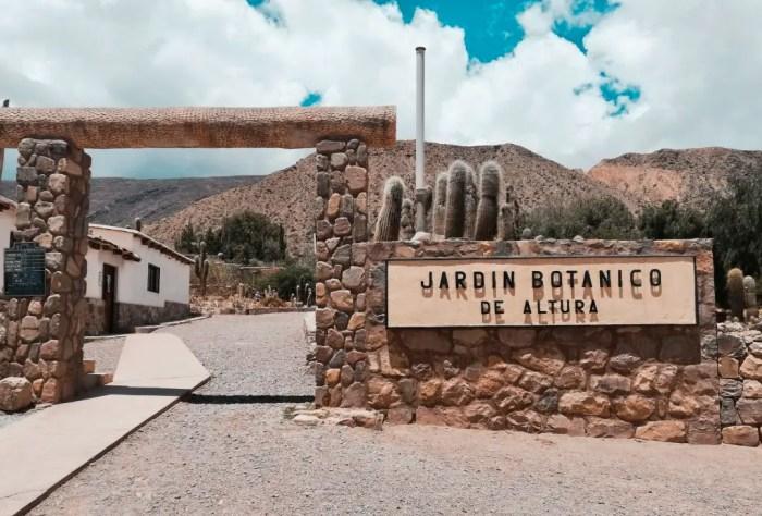 Jardín Botánico de Altura.