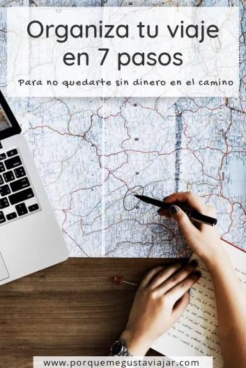 Pin como organizar un viaje