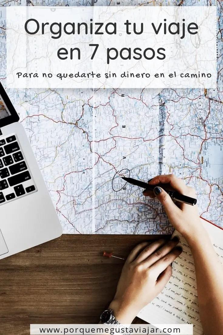 Cómo organizar un viaje (y no quedarse sin dinero en el camino)