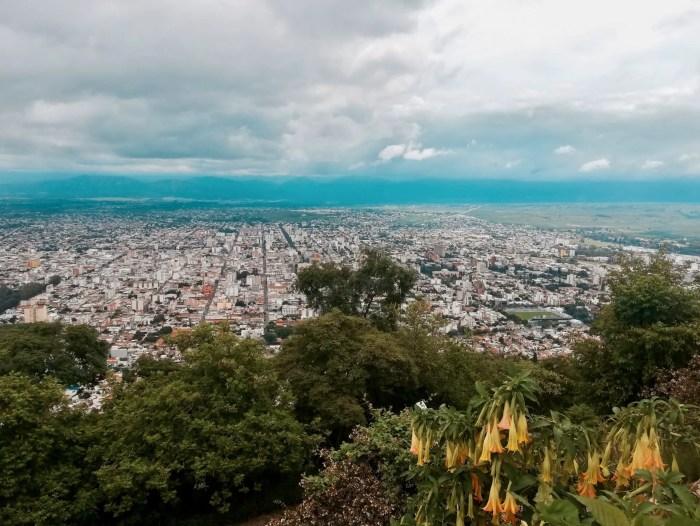 Salta desde el Cerro San Bernardo.