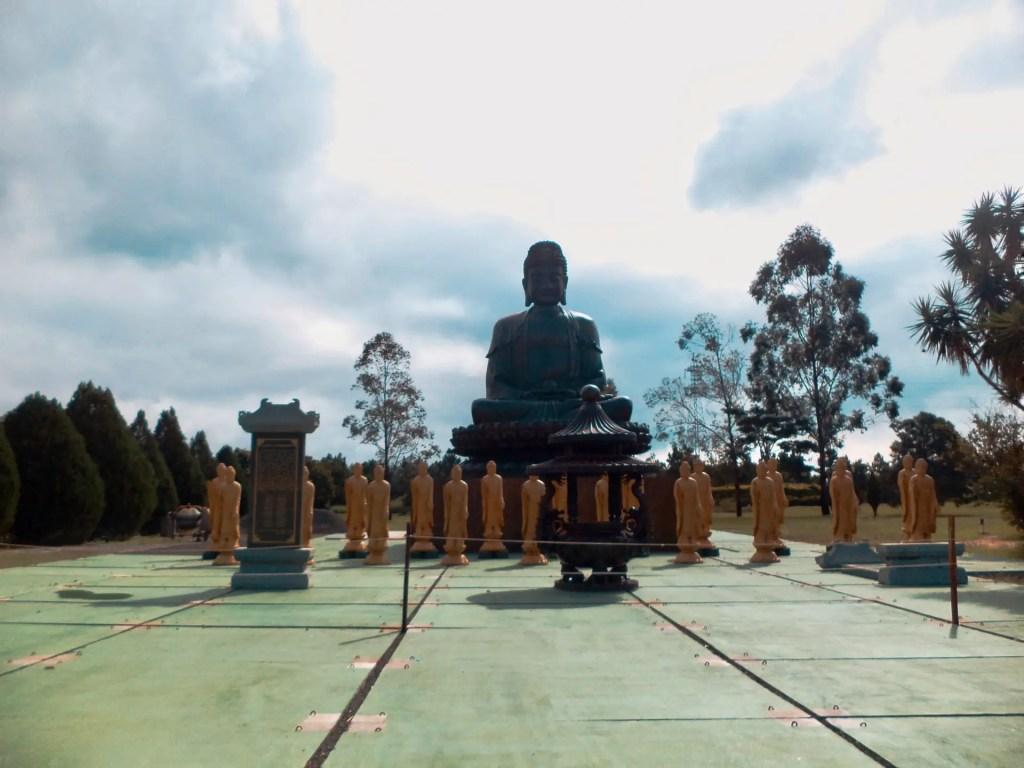 Templo budista Brasil.