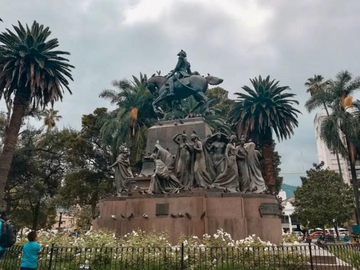 Plaza de Armas de Salta.