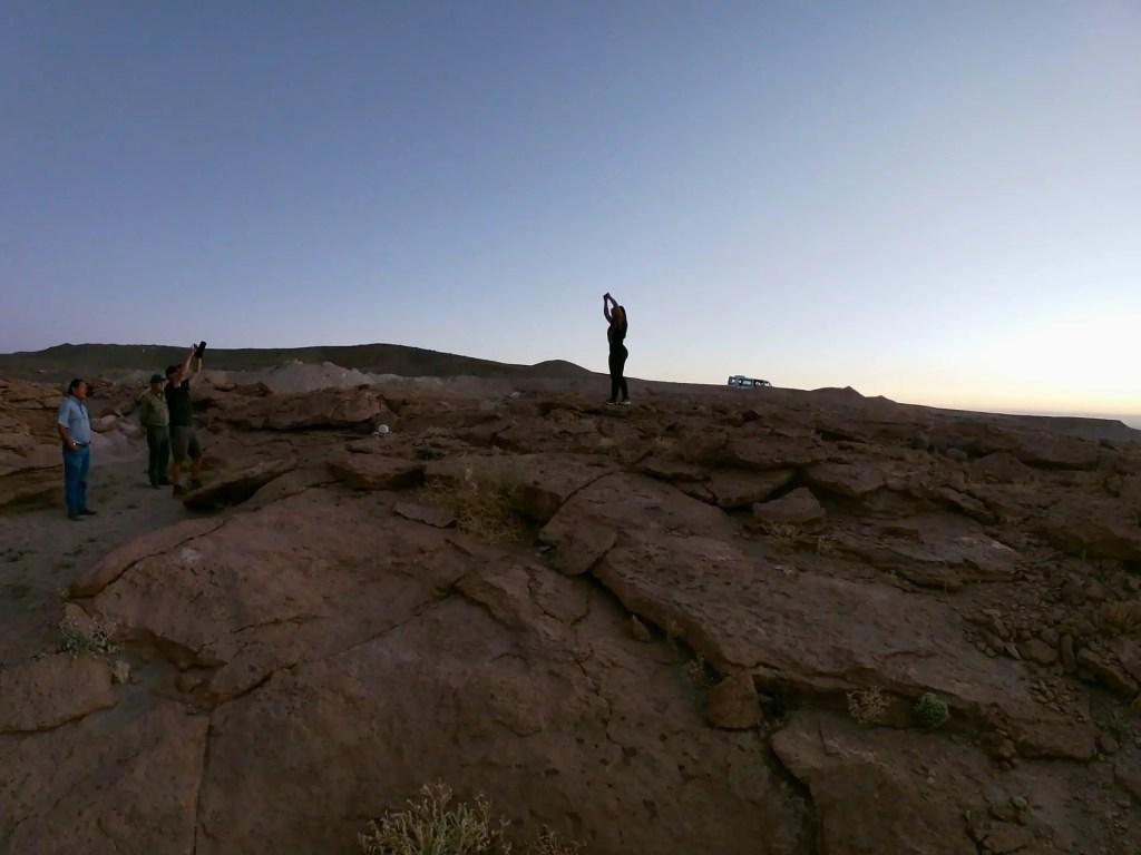 Foto de la sesion de fotos en San Pedro de Atacama.