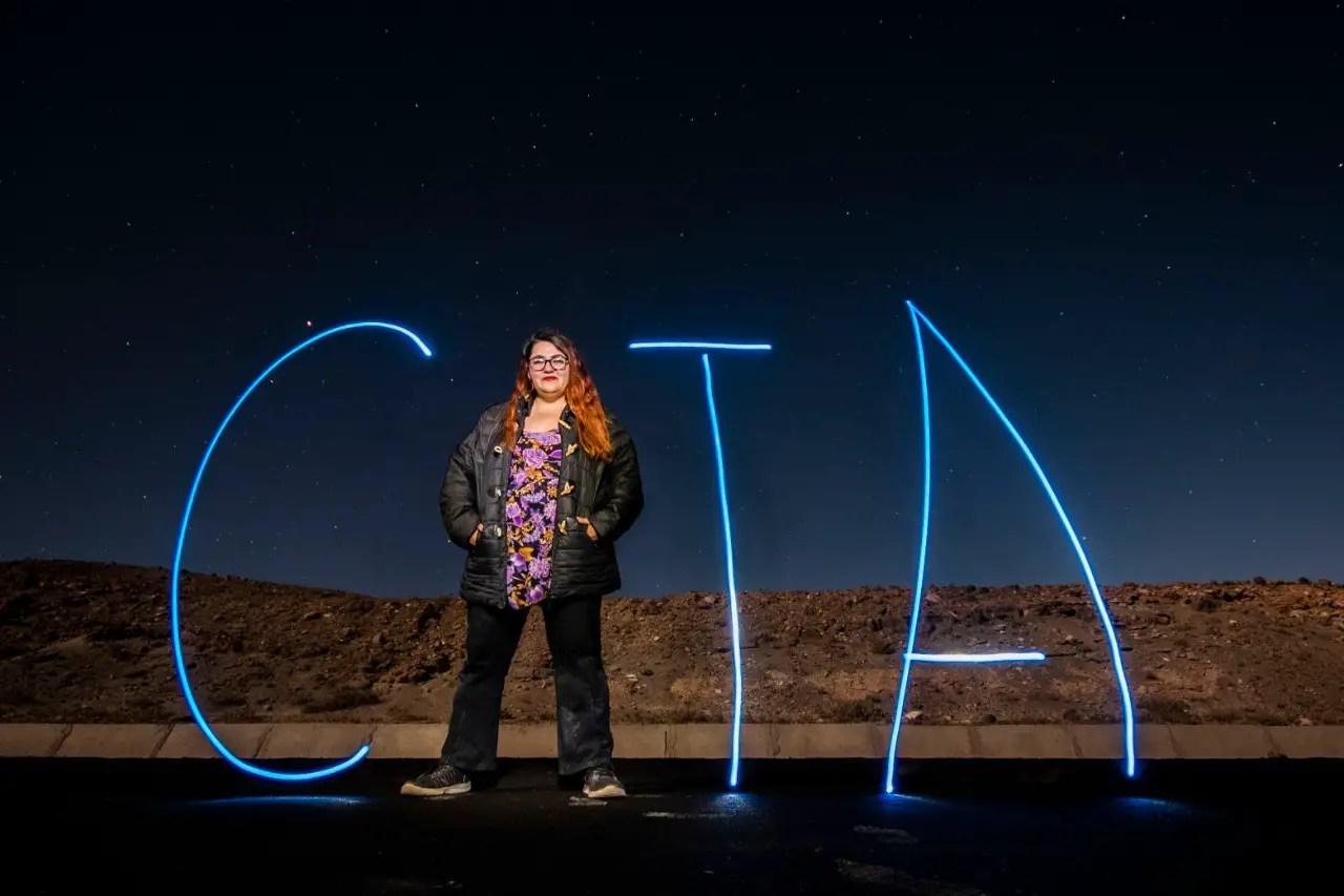Foto tour astrofotográfico en el desierto