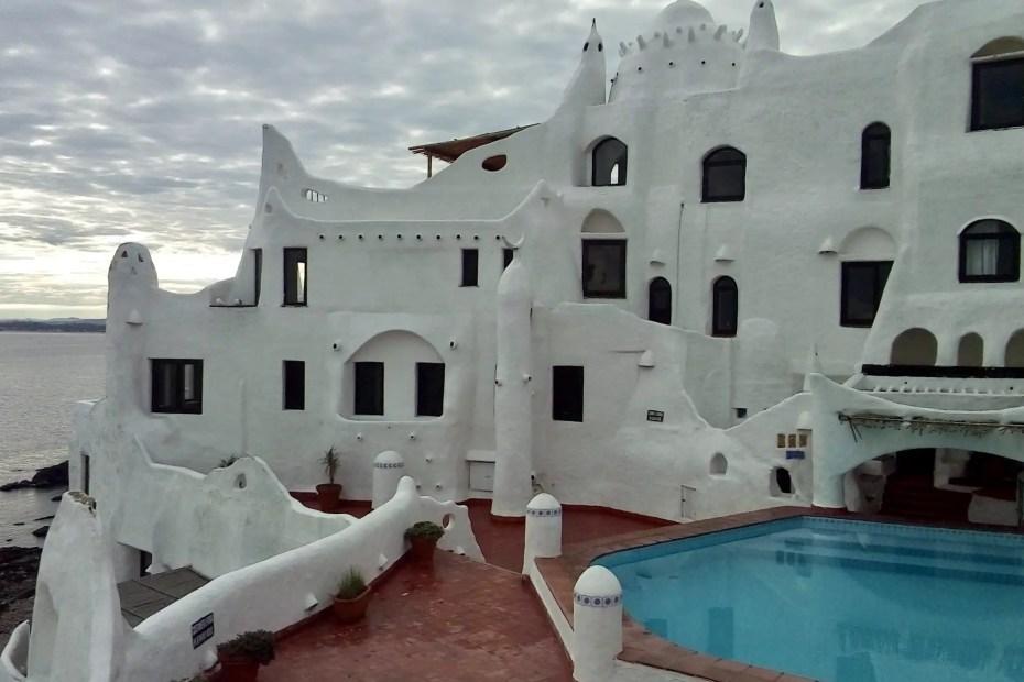 Casapueblo en Punta Ballena.