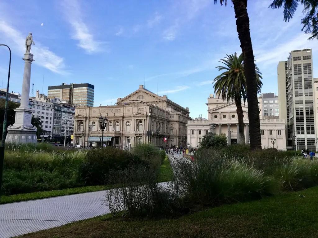 Teatro Colón de Buenos Aires.