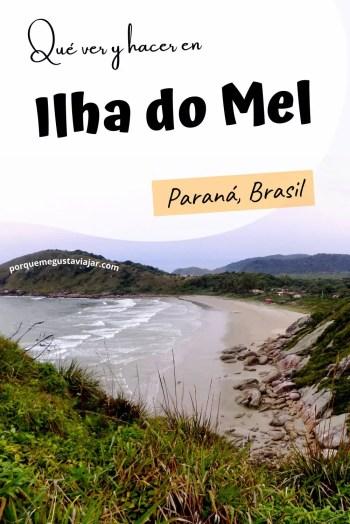 Pin qué ver y hacer en Ilha do Mel.
