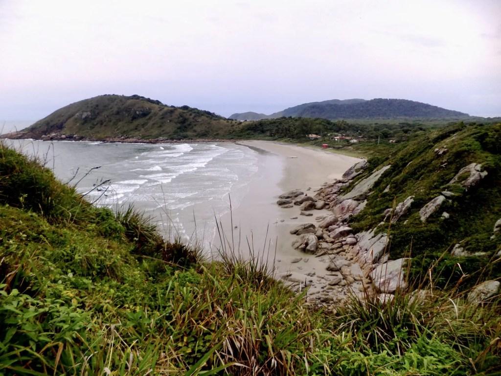 Playa del Faro de las Conchas.