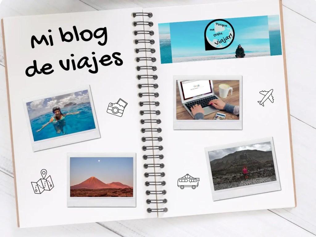 Abrir un blog de viajes.