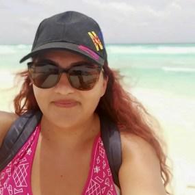 Foto en Cancún, México.