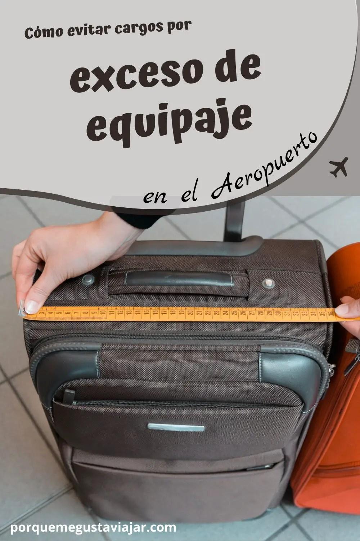 Cómo evitar cargos por exceso de equipaje en el aeropuerto