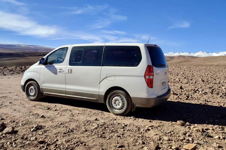 Furgones traslados Calama a San Pedro de Atacama.
