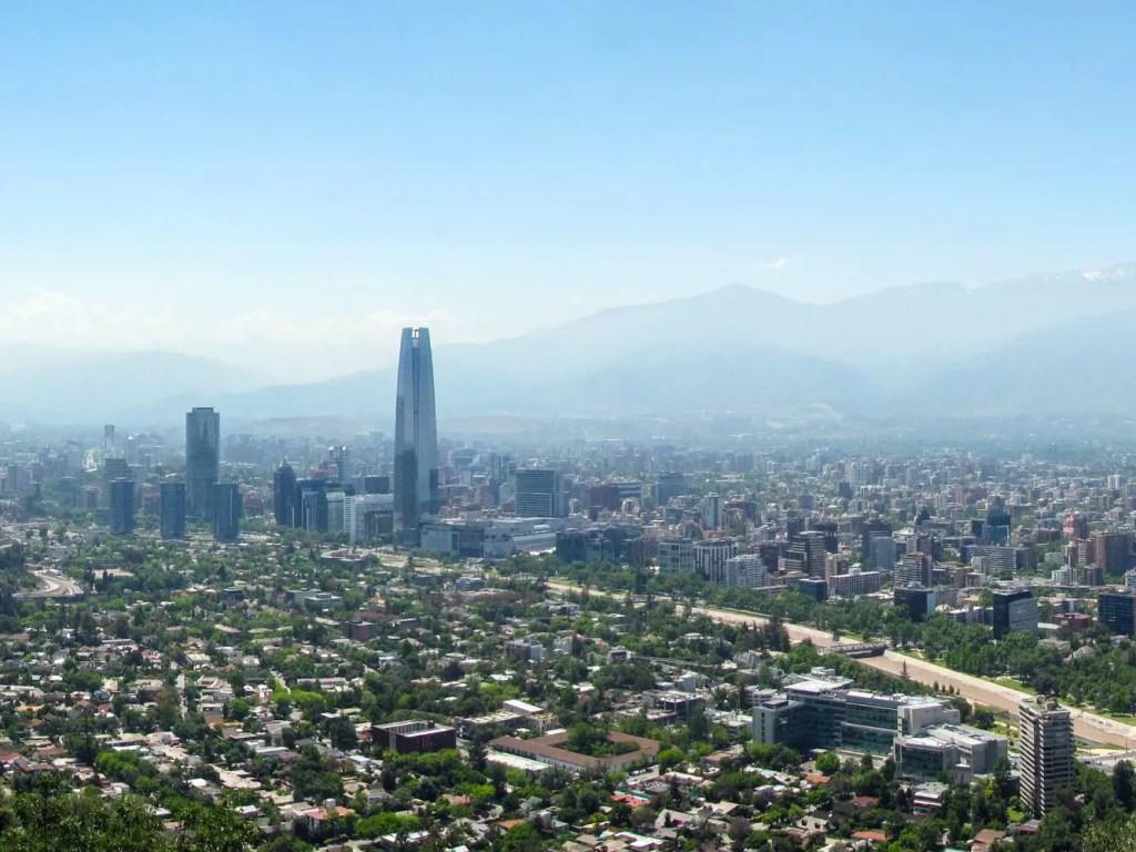 Terremoto en un viaje por Chile.