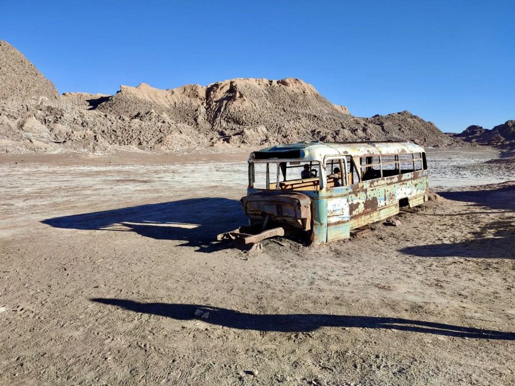 Autobús abandonado de Vallecito.