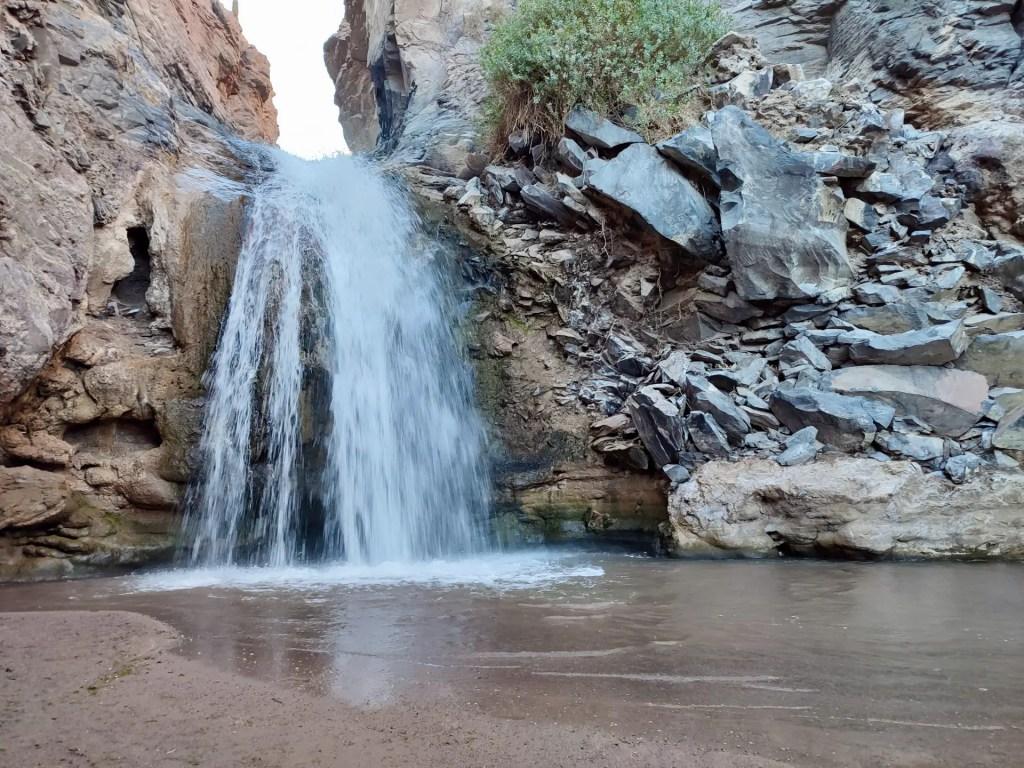 Qué hacer en San Pedro de Atacama: Cascada Escondida.
