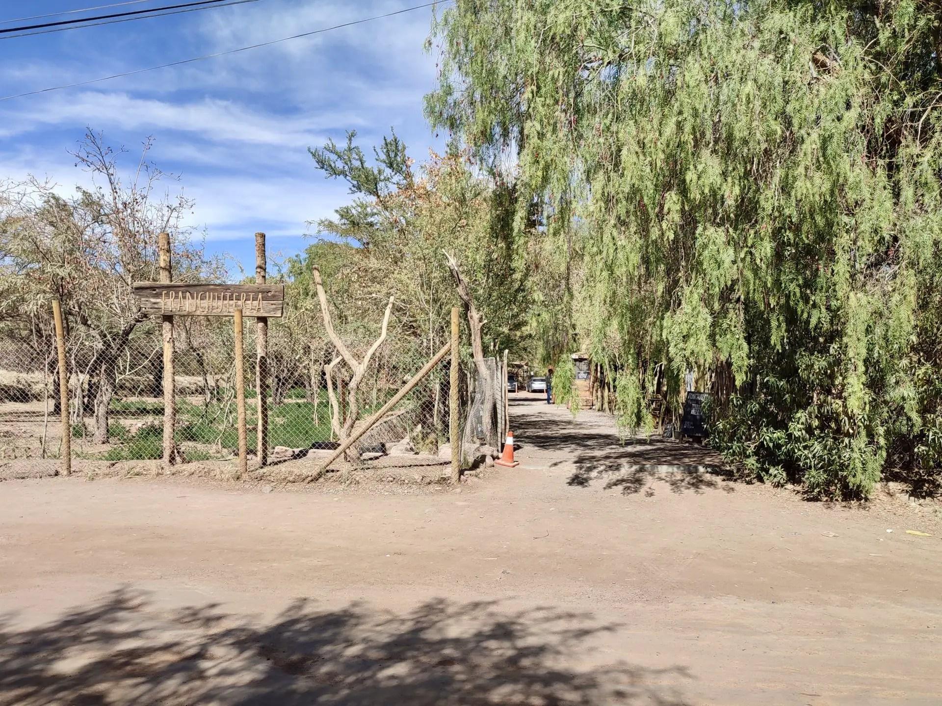 La Franchutería, San Pedro de Atacama.