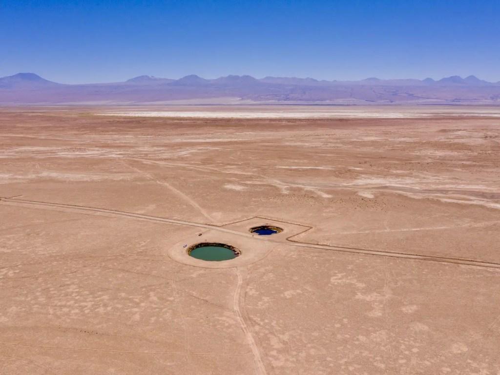 Ojos del Salar, San Pedro de Atacama.