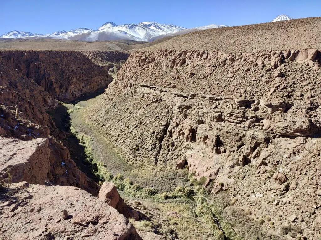 Quebrada del Río Puritama.