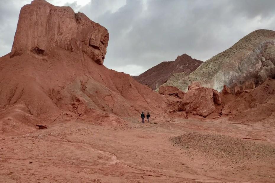 Valle del Arcoíris.