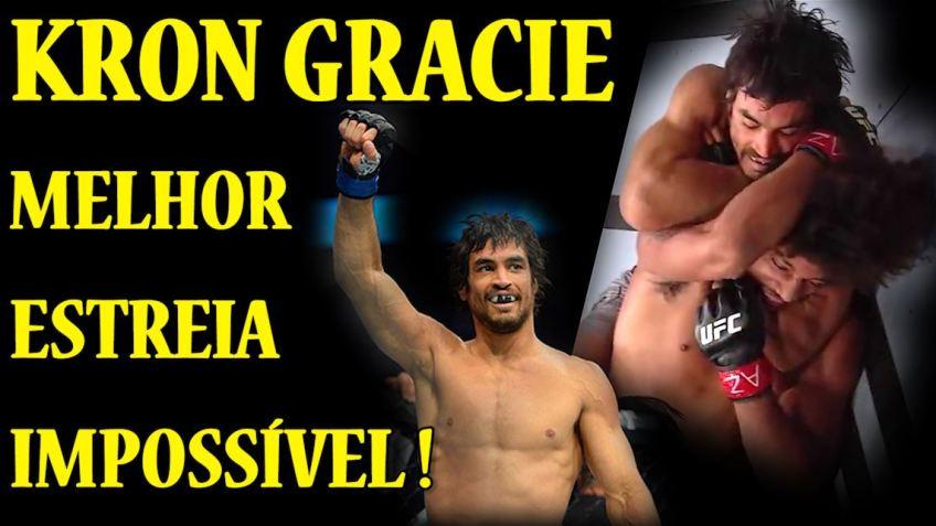Kron Gracie estreis no UFC com finalização sobre Alex Caceres