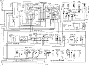 Wiring Diagram Type 928 S Model 84 page  Flow Diagram