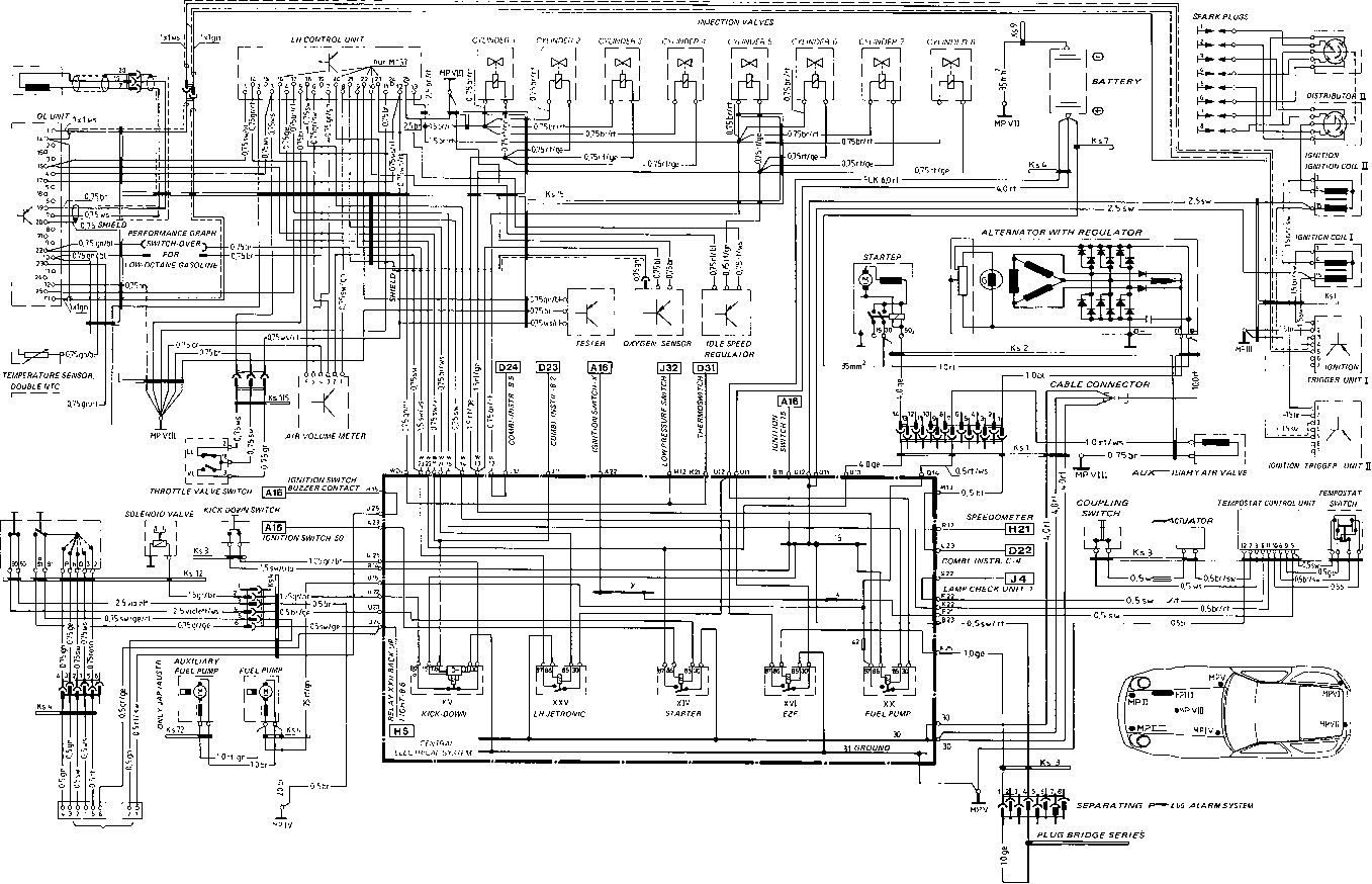 Porsche Wiring Diagram Free Download Schematic