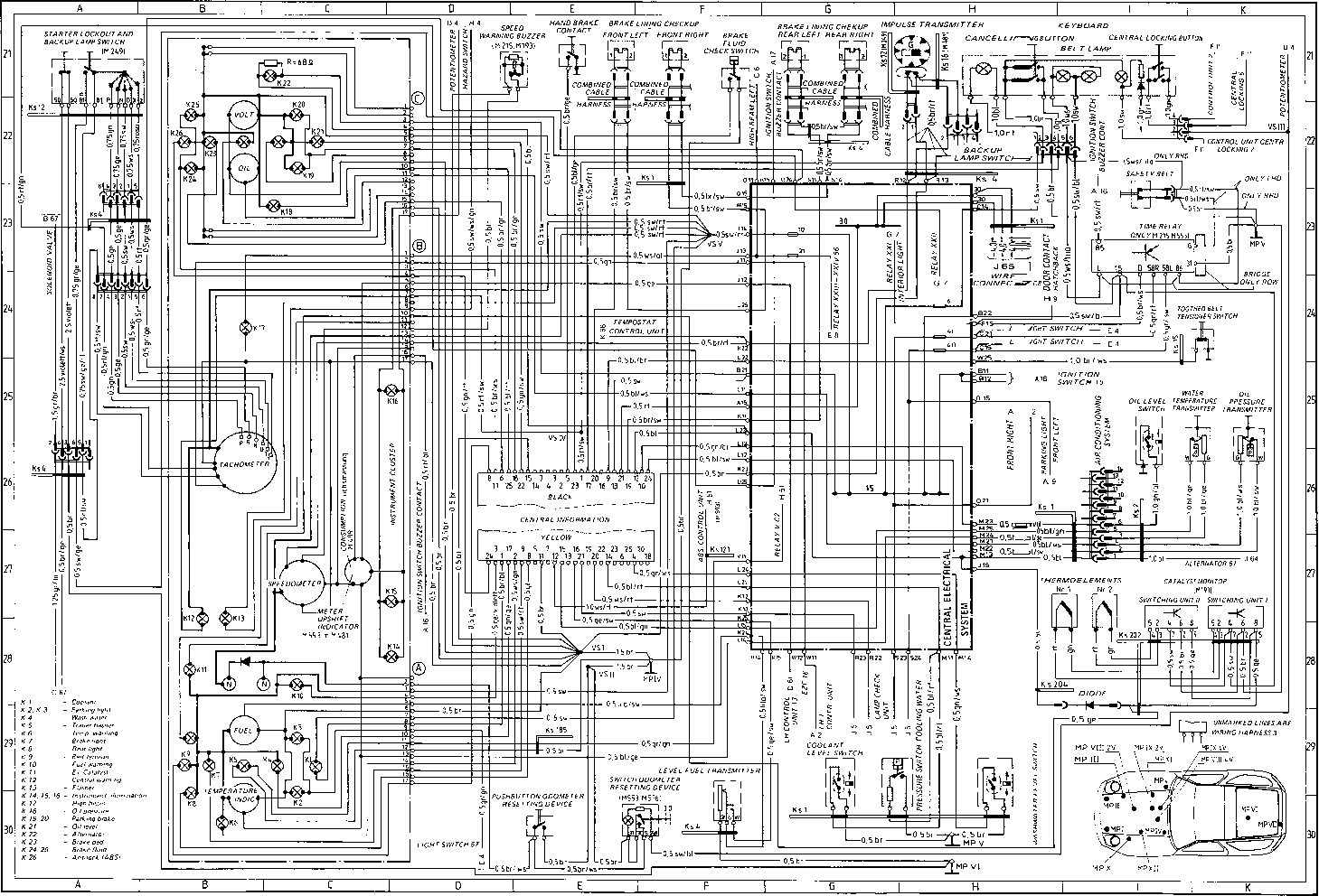 Citroen C2 Central Locking Wiring Diagram Electrical Diagrams Schematics C5 Models List