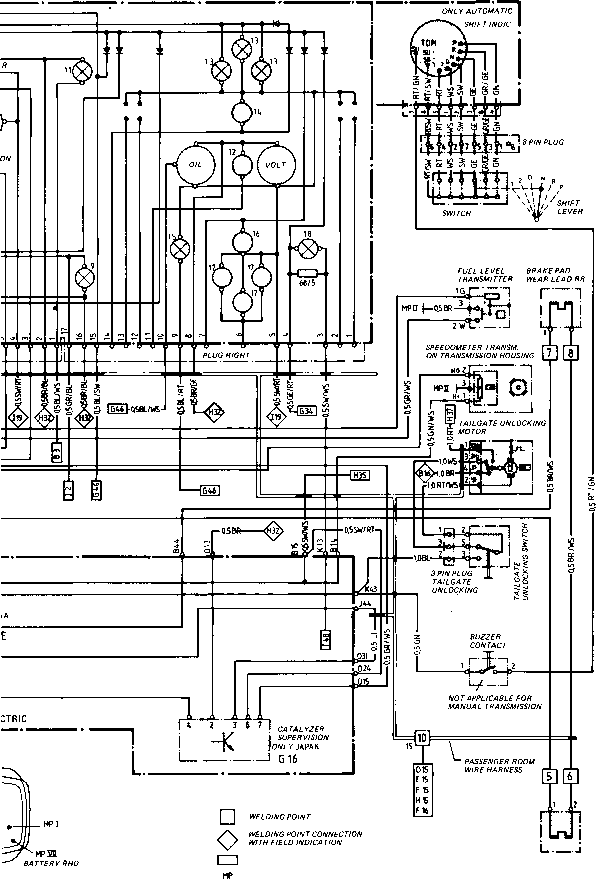 wiring diagram for 1983 porsche 911