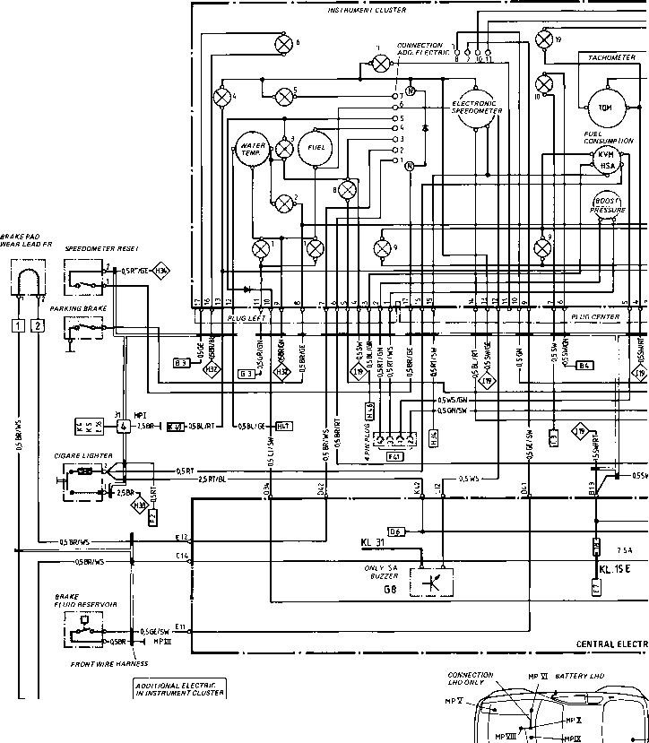 84 Porsche 944 Fuse Box Diagram Wiring