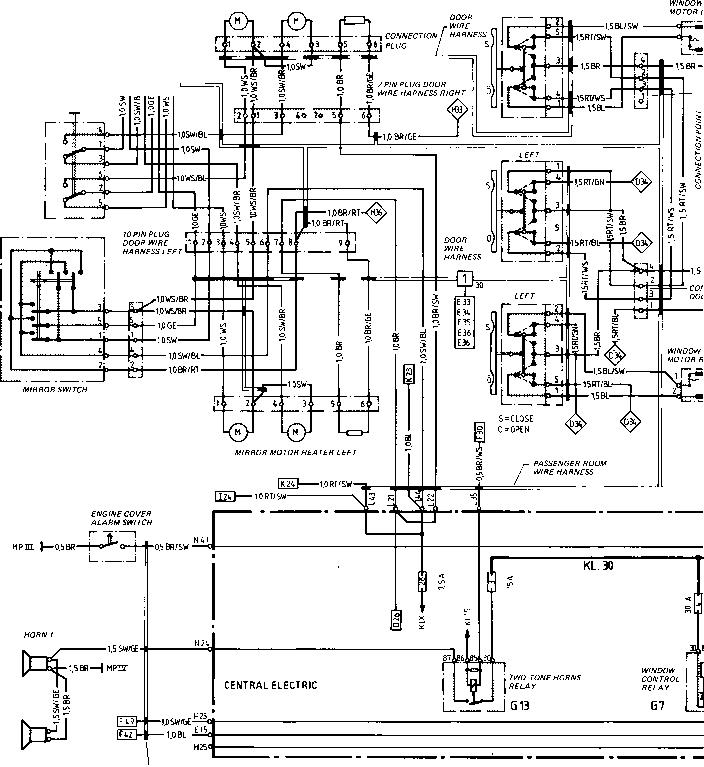 1987 porsche 944 turbo wiring diagram: beautiful porsche 944 wiring diagram  pdf component - schematic
